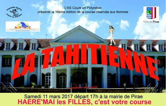 ALLEZ LES FILLES, ON SE BOUGE POUR LA TAHITIENNE 2017!